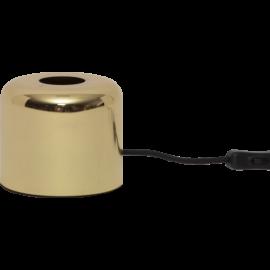 Lampeholder E27 Glans Messing 12x10 , hemmetshjarta.dk