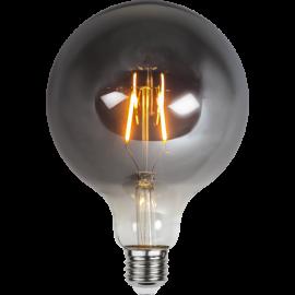 LED-Pære E27 Plain Smoke G125 , hemmetshjarta.dk