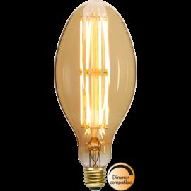LED-Pære E27 Industrial Vintage C100 Dim , hemmetshjarta.dk