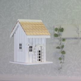 Fuglehustræ - hvid / naturlig , hemmetshjarta.dk