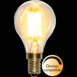 LED-Pære E14 Soft Glow P45 Dim , hemmetshjarta.dk