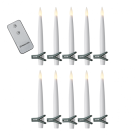 LED juletræsbelysning Fjernbetjening inkluderet , hemmetshjarta.dk