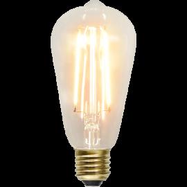 LED-Pære E27 Soft Glow ST64 , hemmetshjarta.dk