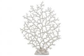 Koral Hvid Poly 2x36x47cm , hemmetshjarta.dk