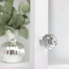 Knop Diamant rund top 6x3 cm , hemmetshjarta.dk