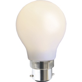 LED-Pære B22 Outdoor Lighting A55 Opal , hemmetshjarta.dk