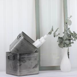 Plant Kvadrat 2-pack 20/16 - cloudy/grå , hemmetshjarta.dk
