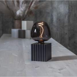 Lampeholder E27 Box 10x10 Sort , hemmetshjarta.dk