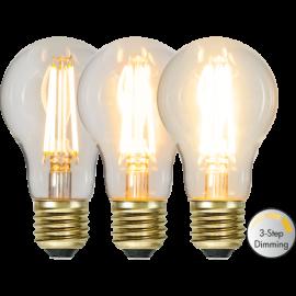 LED-Pære E27 Soft Glow A60 Dim 3-step , hemmetshjarta.dk