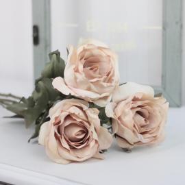 Kunstig Rose 60 cm , hemmetshjarta.dk