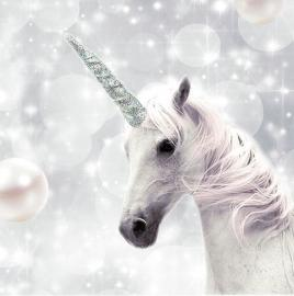 Servietter - Unicorn , hemmetshjarta.dk