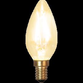LED-Pære E14 Soft Glow C35 , hemmetshjarta.dk