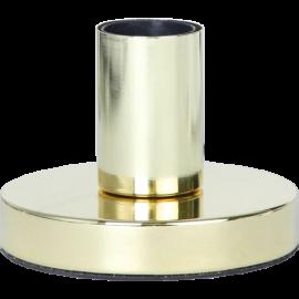 Lampeholder E27 Glans Messing 8,5x12 , hemmetshjarta.dk