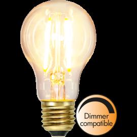 LED-Pære E27 Soft Glow A60 Dim , hemmetshjarta.dk