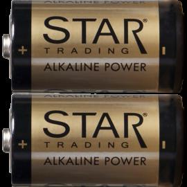 Batteri C 1,5V Power Alkaline 2-pack , hemmetshjarta.dk