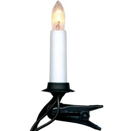 Juletræsbelysning Hvid 16 11cm , hemmetshjarta.dk
