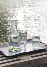 Flaske m/hvidt patentlåg 1000 ml , hemmetshjarta.dk