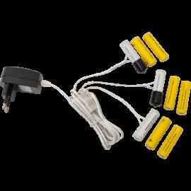 Batteri eliminator 3 x AA , hemmetshjarta.dk