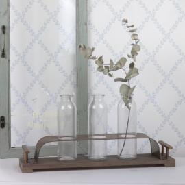 Vase med stativ 45 cm , hemmetshjarta.dk