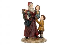 Julemanden / Børn Poly 15x13x25cm , hemmetshjarta.dk