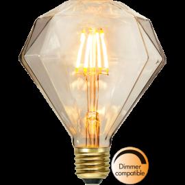 LED-Pære E27 Soft Glow Dim , hemmetshjarta.dk