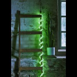 Lysslange FlatNeonLED Udendørs Grøn 480 lys 500cm , hemmetshjarta.dk