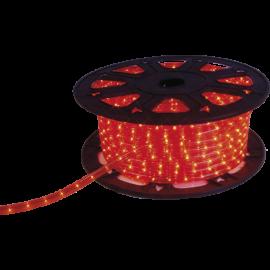 Lysslange Ropelight Micro Reel Udendørs Rød 1620 lys 4500cm , hemmetshjarta.dk