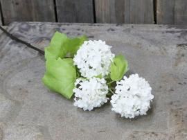 Fleur Duftsnebolle H60/L15/B12 cm hvid , hemmetshjarta.dk
