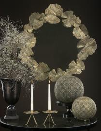 Spejl Leaves Antique 89x8.5x92cm , hemmetshjarta.dk