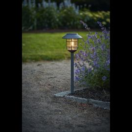Solcellelampe stolpe Filippa , hemmetshjarta.dk