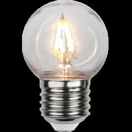 LED-Pære E27 Outdoor Lighting G45 , hemmetshjarta.dk