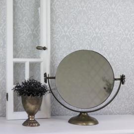 Bordspejl Vipbar - antik guld , hemmetshjarta.dk