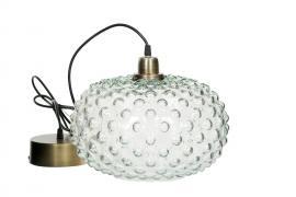 Lampe Globe Large Glas 30x23cm , hemmetshjarta.dk