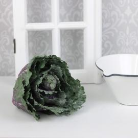 Kunstig dekorativ kål , hemmetshjarta.dk