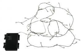 Lys kæde G LED 2x2m / 40 lys Vandtæt / Timer Batteri 3AA , hemmetshjarta.dk