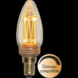LED-Pære E14 New Generation Classic C37 Dim , hemmetshjarta.dk