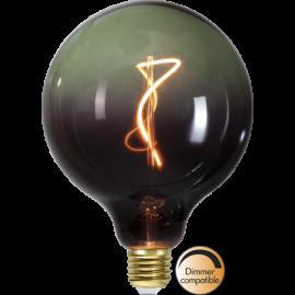 LED-Pære E27 ColourMix G125 Dim , hemmetshjarta.dk