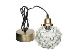 Lampe Globe Glas 15cm , hemmetshjarta.dk