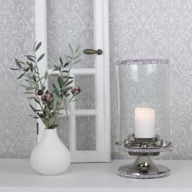 Lanterne Luksus med diamantkant 33 cm , hemmetshjarta.dk