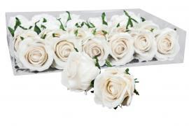 Rose/Vannfast 6 cm Creme 2-pack , hemmetshjarta.dk