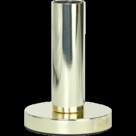 Lampeholder E27 Glans Messing 12x17 , hemmetshjarta.dk