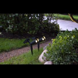 Solcelle spotlight Powerspot 2-pack , hemmetshjarta.dk