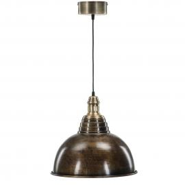 Loftlampe Metal Sienna Antikbrun 38x34cm , hemmetshjarta.dk