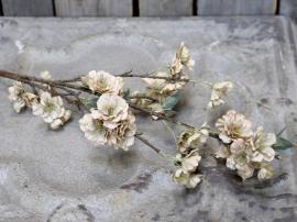 Uge 40 Fleur Gren m. blomster L92 cm støvet rosa , hemmetshjarta.dk