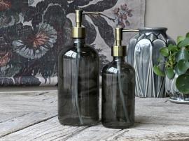 Flaske m. 2 pumper 1000 ml. H26/Ø9,5 cm kul , hemmetshjarta.dk