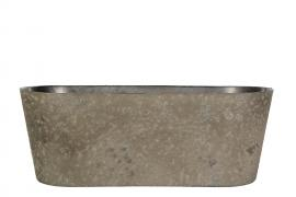 Hårdplast Mud Krukke/Ovali 27,5x10x11cm , hemmetshjarta.dk