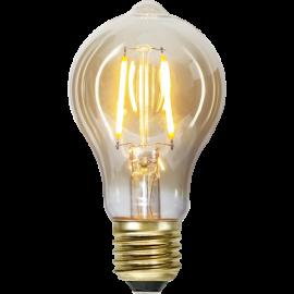 LED-Pære E27 Plain Amber TA60 , hemmetshjarta.dk